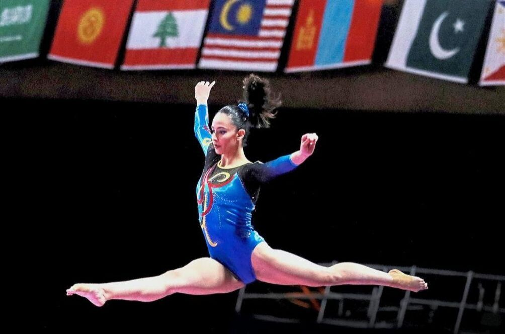 National Artistic Gymnast Farah Ann Hadi Qualifies For 2020 Tokyo Olympics | News | Rojak Daily
