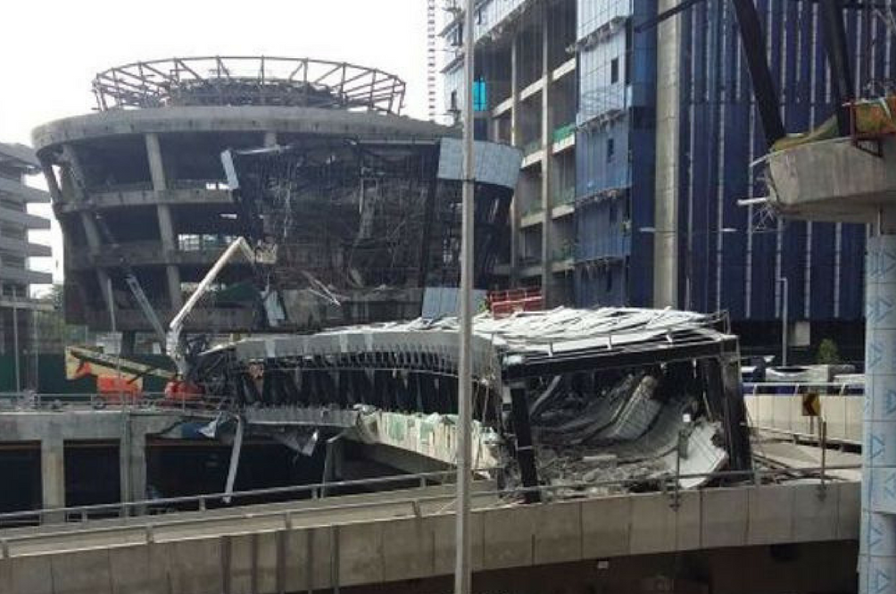 KL Eco City Bridge Collapse: One Dead and Five Injured