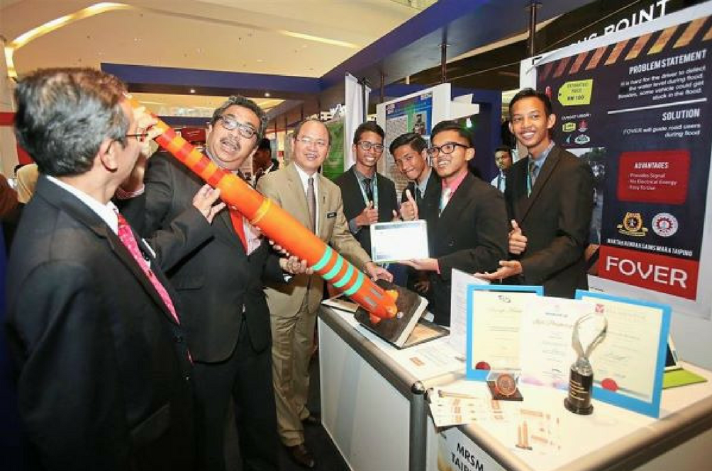 Form Five Students Invented a Flood Warning System That Won the National Innovation Award