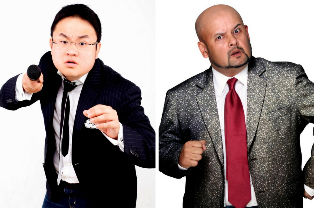 Harith Iskander and Jason Leong Vie for the Funniest Person in the World Title