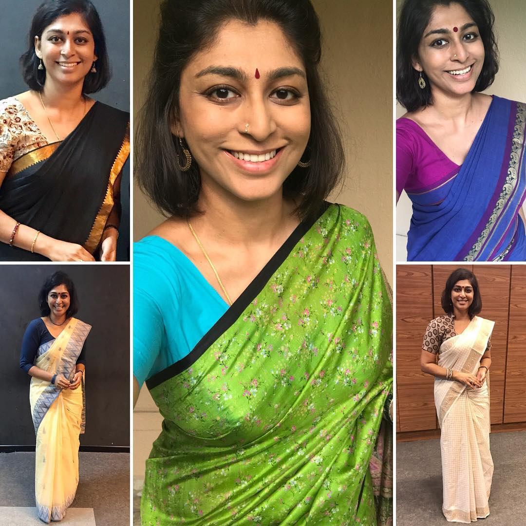 Another week of sarees