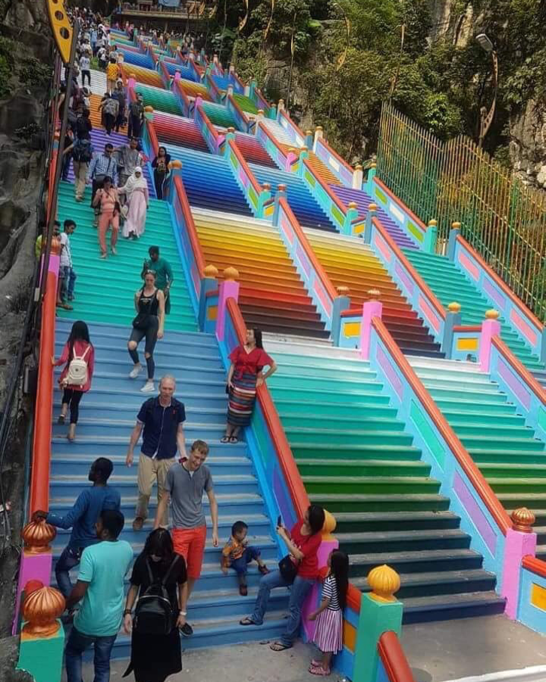 Batu Caves Gets A Colourful New Look And We Re Absolutely In Love