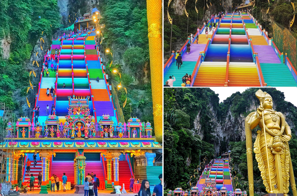 Batu Caves Gets A Colourful New Look, And We're Absolutely In Love!