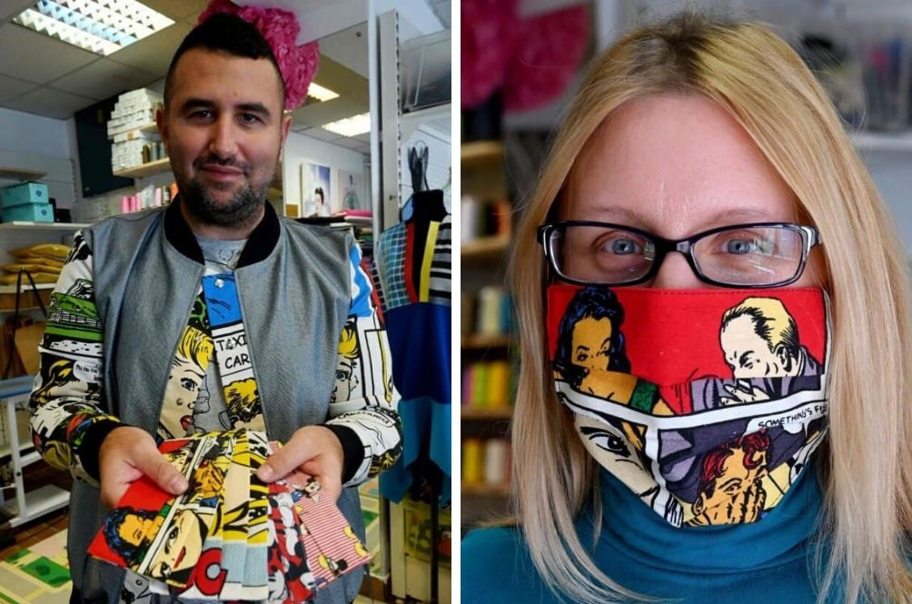 Croatian Fashion Designer Launches Collection Of 'Cheerful' Masks