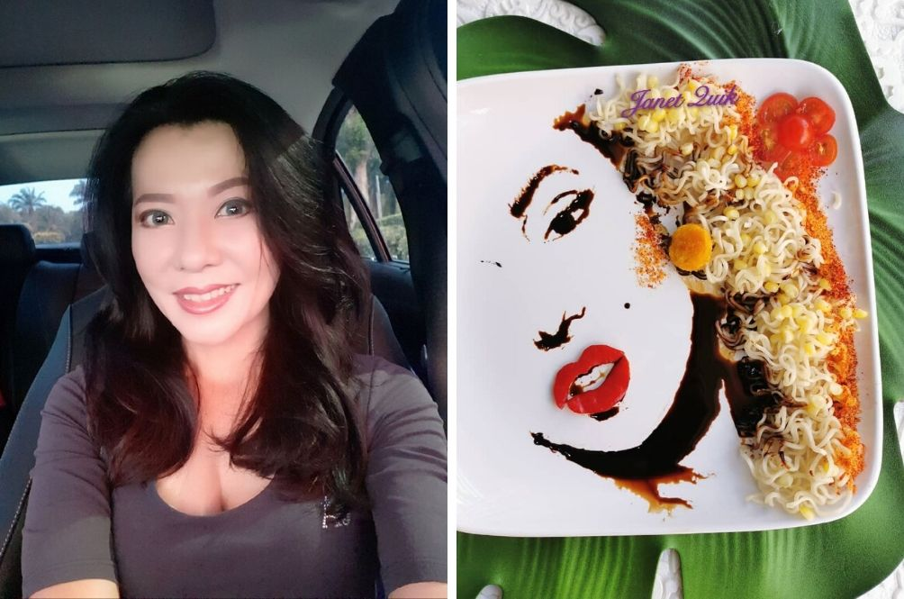 My Plate Is My Canvas: Malaysian Housewife Creates Stunning Art With Food