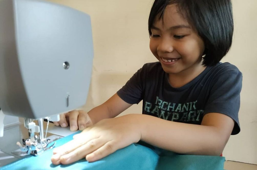 #MYHero: 9-Year-Old Seamstress Sews PPE For Medical Staff Amidst COVID-19 Pandemic