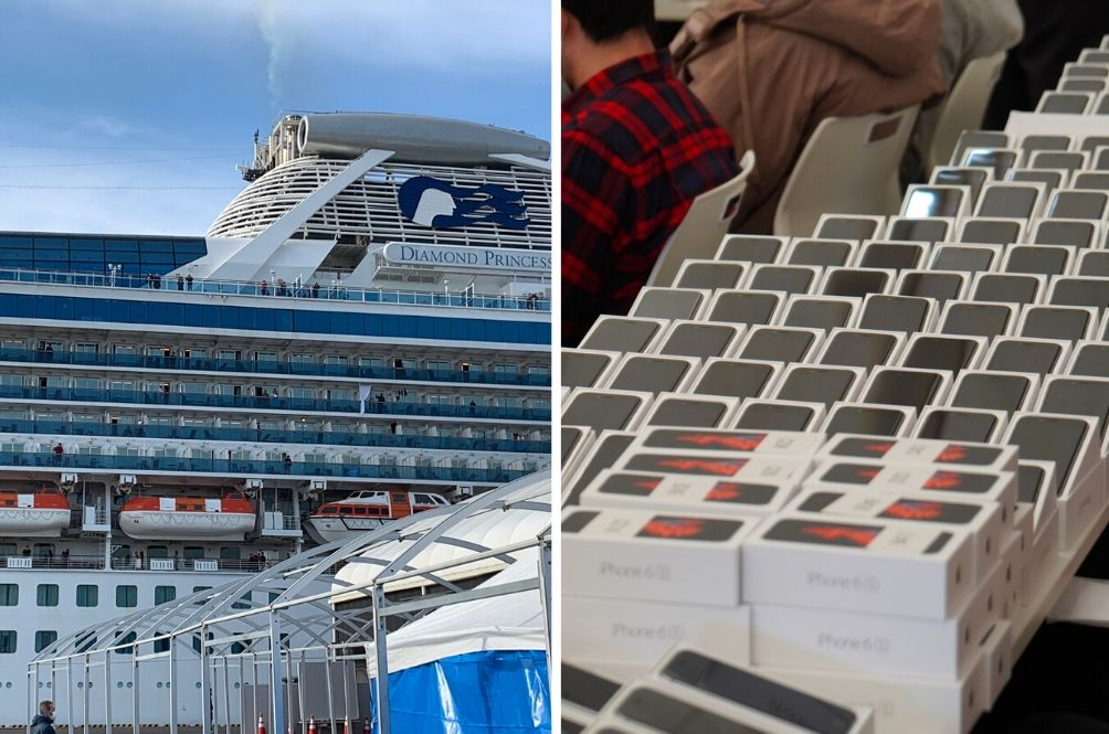 Japanese Government Gives Away 2,000 iPhones To Passengers Stuck On Ship