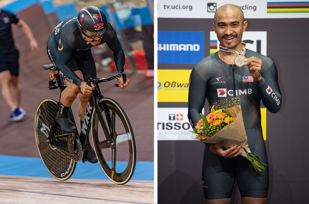 Cyclist Azizulhasni Wins Bronze In Track Cycling World Championships