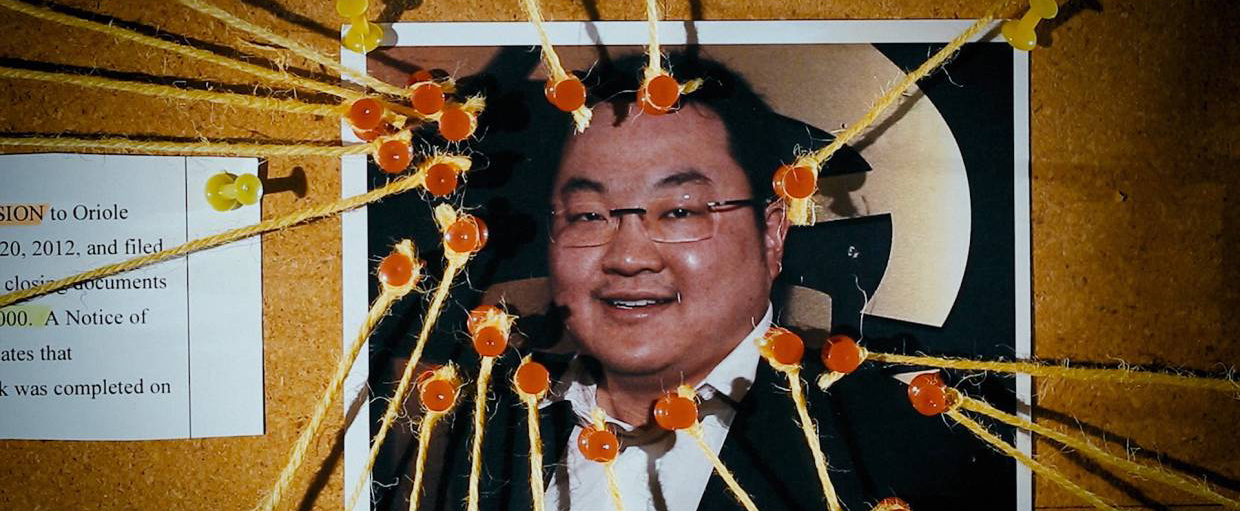 Jho Low claims that he's just a middle man.