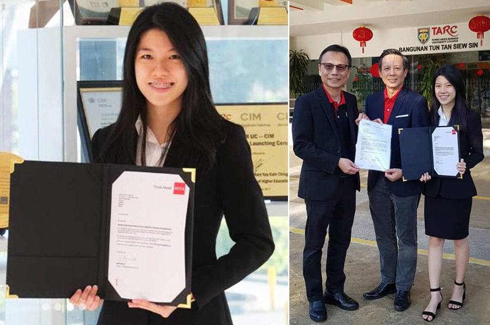 Calculated Success: Malaysian Student Is World Number One In ACCA SBL Examinations