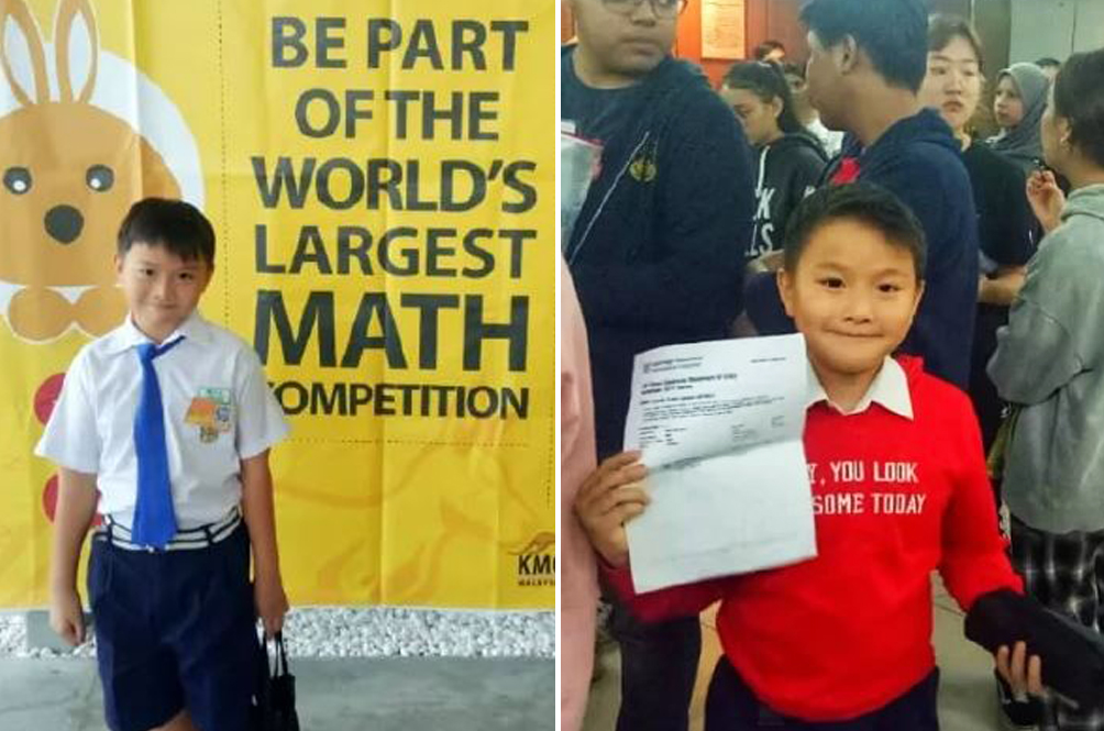 Eight-Year-Old Malaysian Boy Scores A For Mathematics Extended Cambridge IGCSE