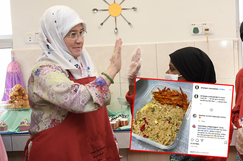 A Royal Meal: Raja Permaisuri Agong Cooks Special Meals For Medical Frontliners
