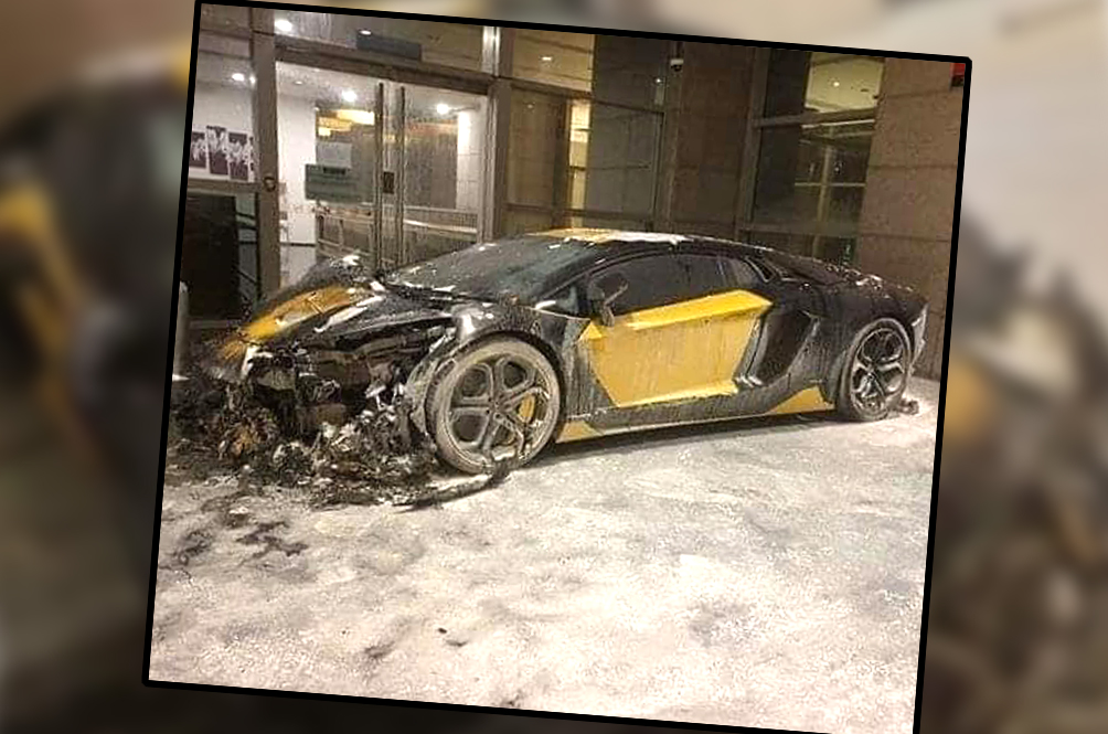This Photo Of A RM2mil Lamborghini Gutted In A Bkt Bintang Fire Is The Saddest Picture Of The Week
