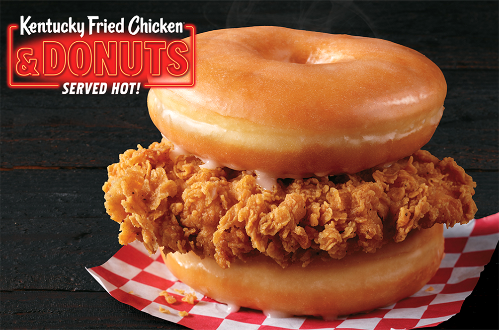 Hopefully Coming Soon To A KFC Near Us: The Donut Burger