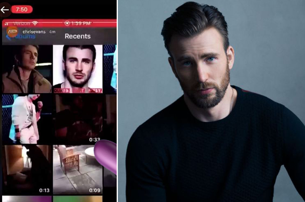 Chris Evans Accidental Naughty Pic Breaks The Internet, Netizens Jump To His Defense