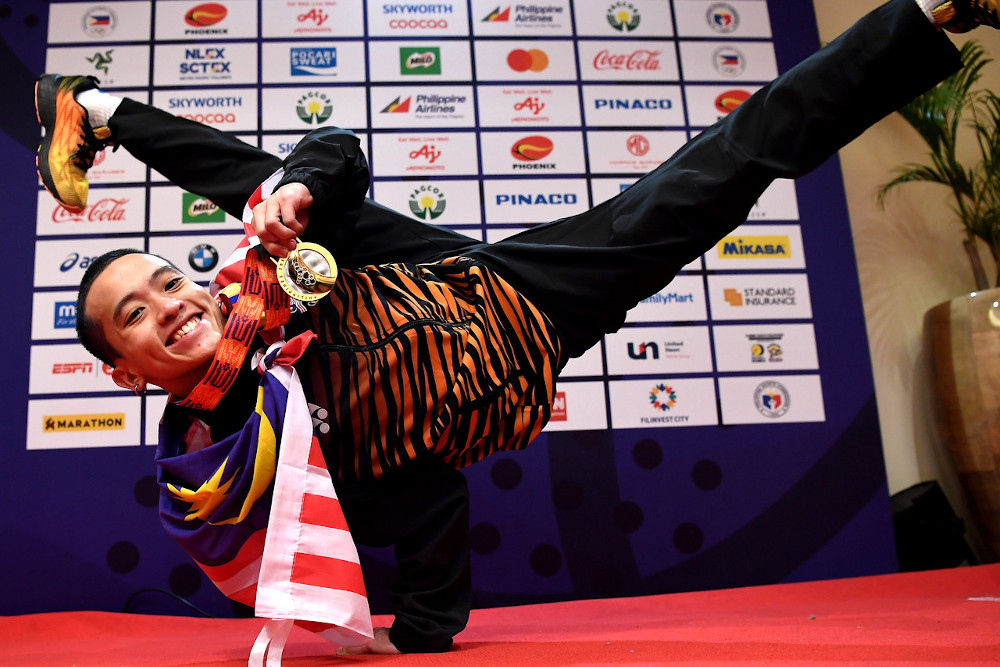 Break dancing is a new event, and we got a gold.