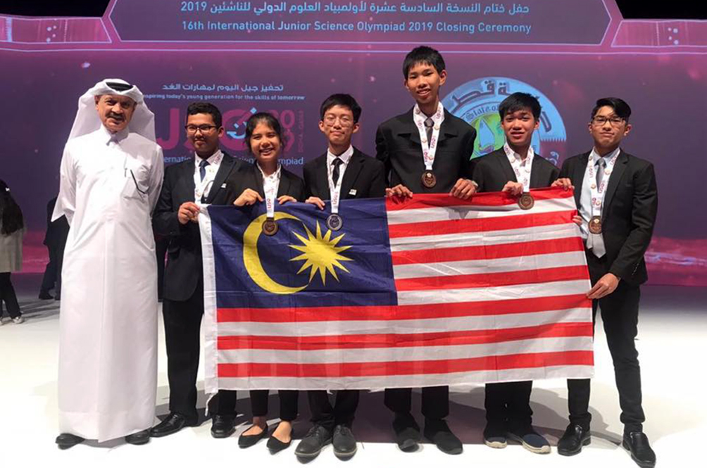 Malaysian Students Bring Home Medals From International Junior Science Olympiad 2019