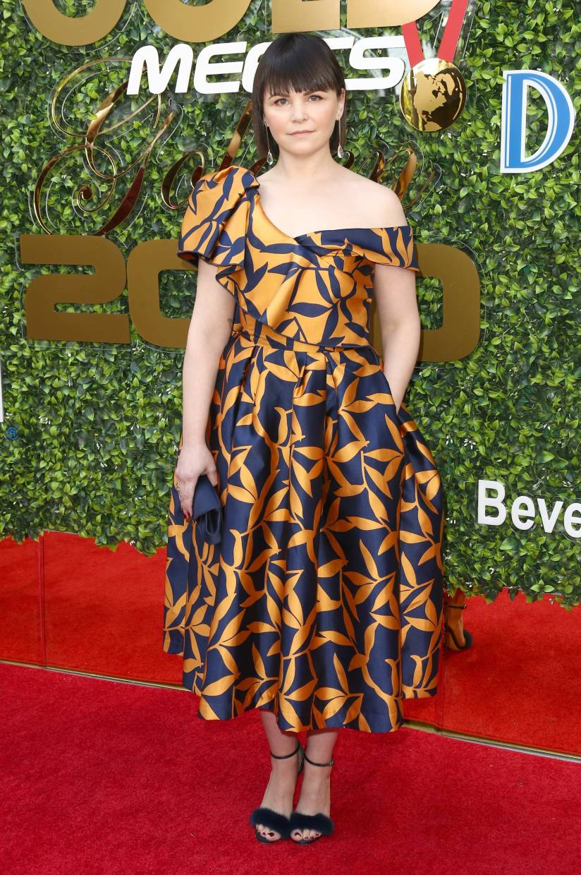 Ginnifer Goodwin was also spotted in a Khoon Hooi design.