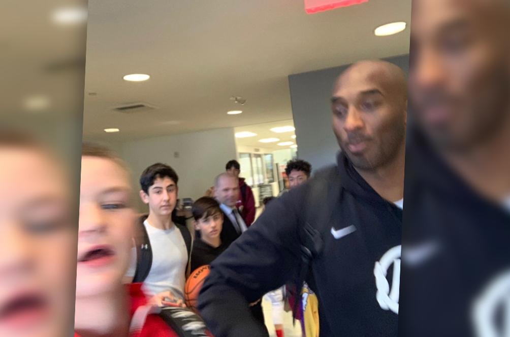 This Blurry Selfie May Very Well Be The Last Picture Taken Of Kobe Bryant