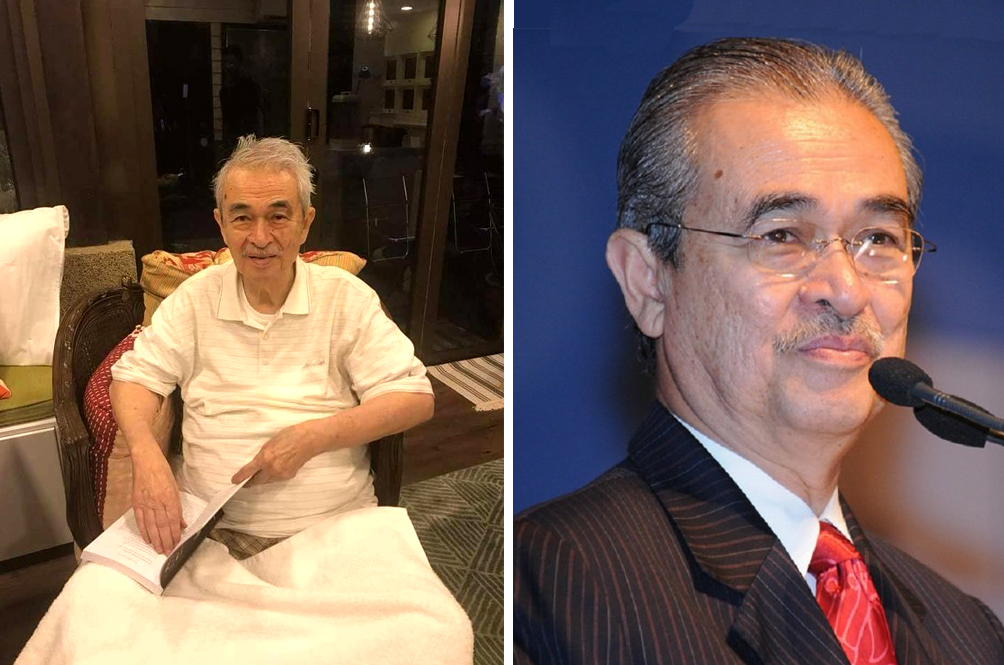 Tun Abdullah Ahmad Badawi's Special Officer Releases Statement About Former PM's Health