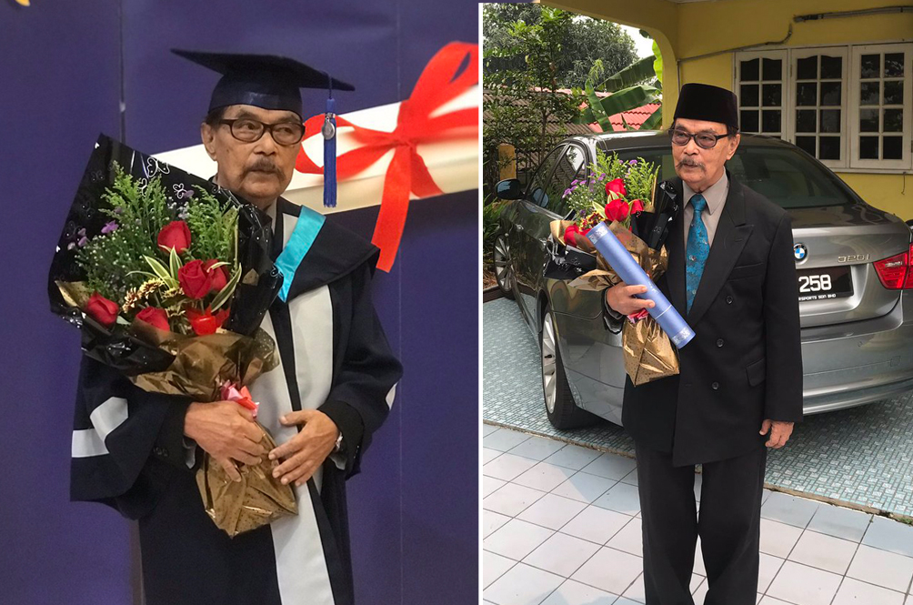 Meet The 87-Year-Old Malaysian Uncle Who Graduated College With A Degree