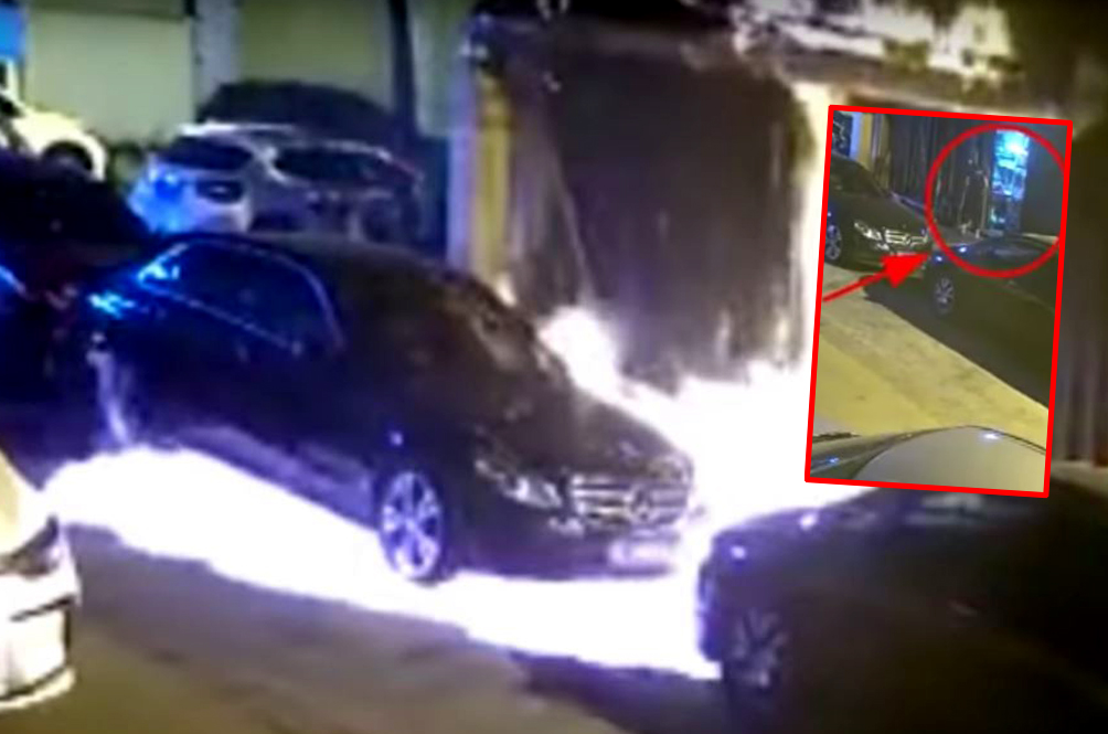 Man Tries To Kill Cockroach Using Lighter Flame, But Ends Up Burning Three Cars