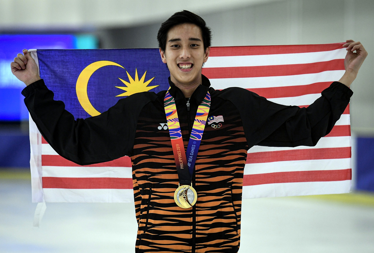 Julian bags another gold medal.