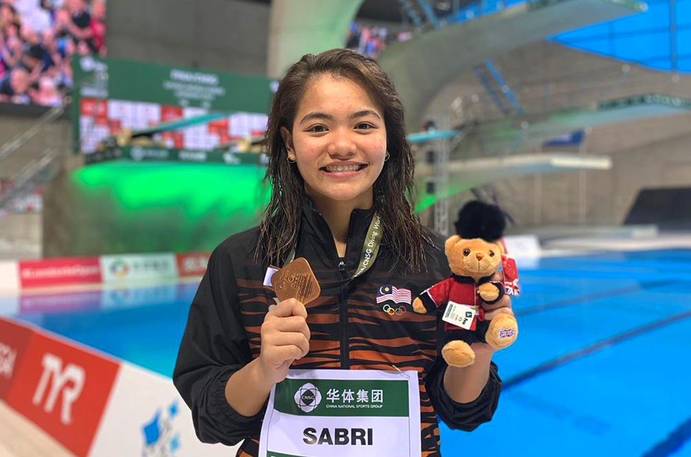 Malaysian Diver Makes History With Her Diving World Series (DWS) Win