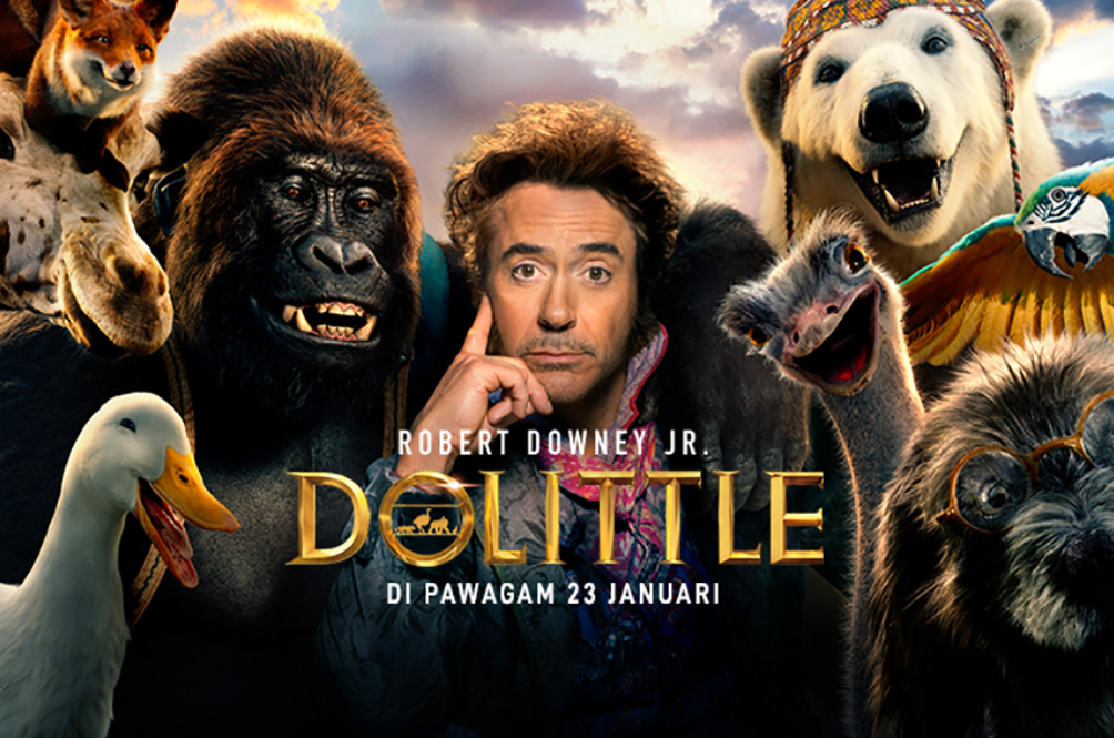 5 Things You Need To Know Before Watching 'DOLITTLE' This CNY