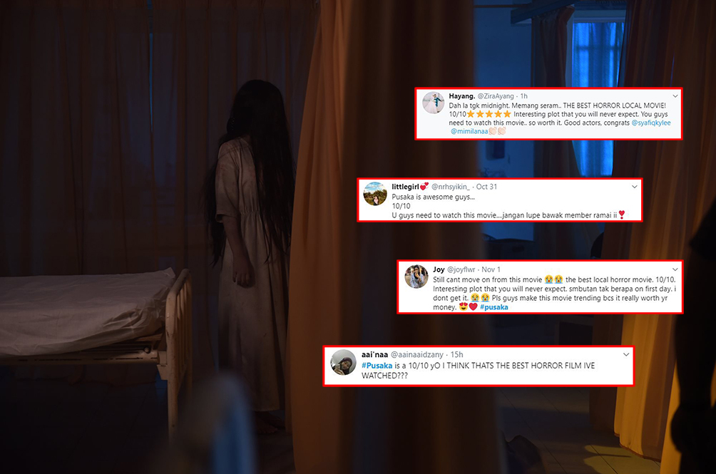 'Best Local Horror Movie': Here's What Malaysians Are Saying About 'Pusaka'