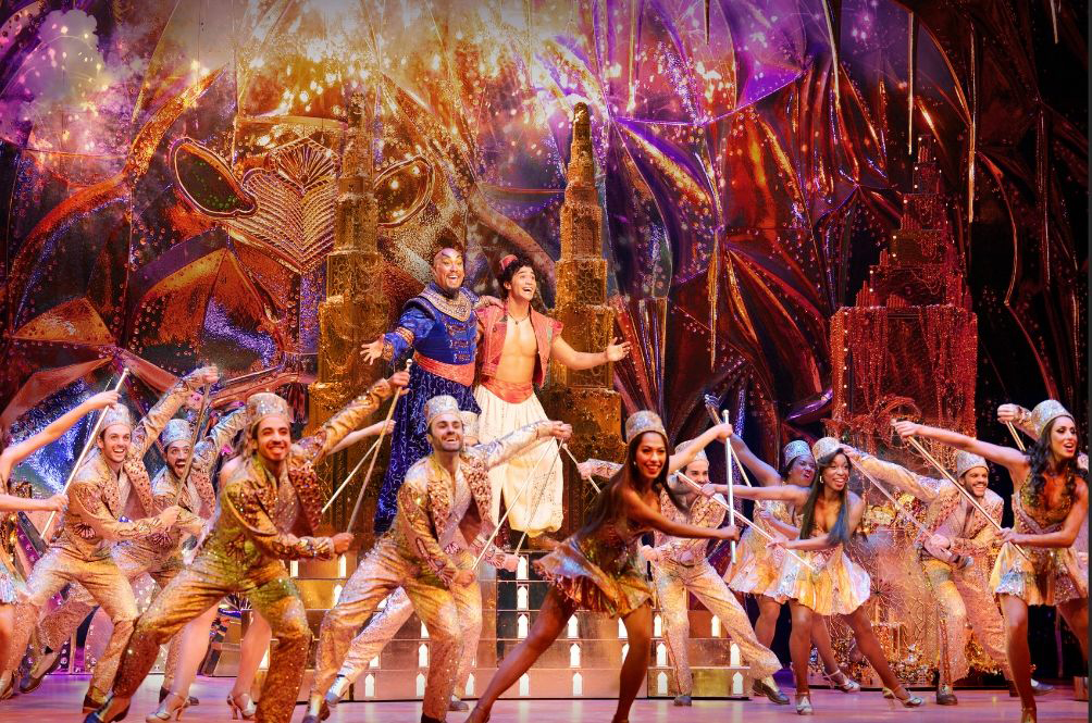 We Got To Watch 'Aladdin The Musical' And It Blew Our Minds!