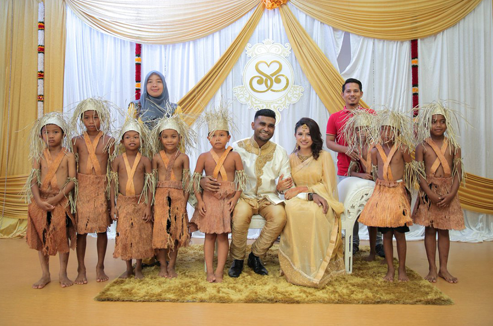 Orang Asli Students Brave 200km Journey To Celebrate Teacher's Wedding