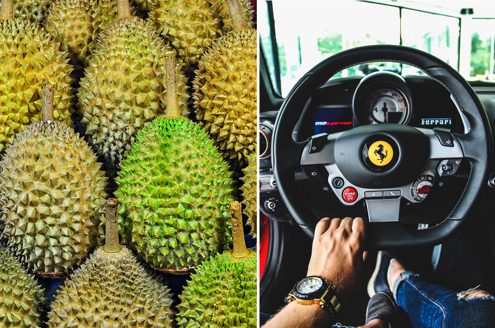 Beware The Durian Scam: How Expensive Your Durian Purchase Is Depends On The Car You Drive