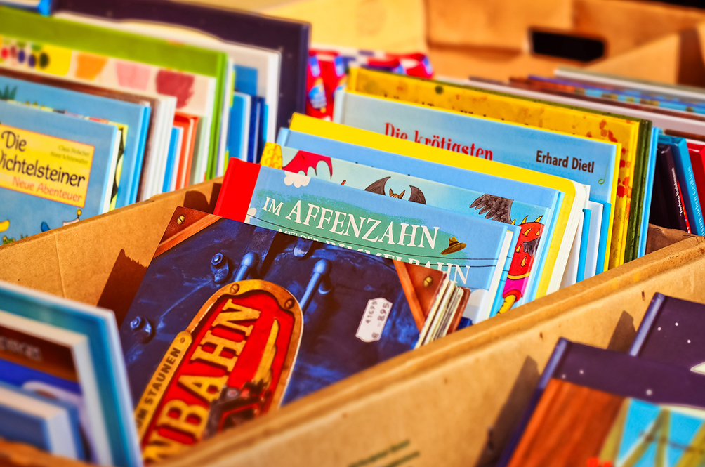 Here's Where You Can Donate Your Old Children's Book For A Good Cause