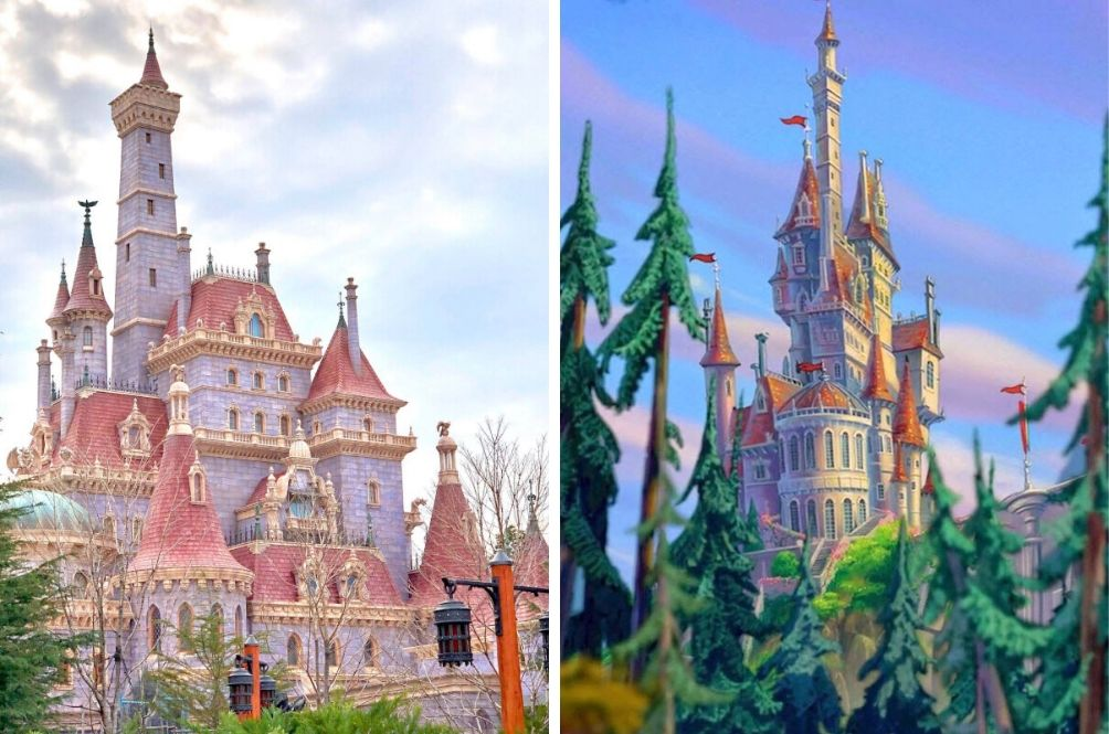Tokyo Disneyland Adds Stunning Beauty And The Beast Themed Attraction News Rojak Daily