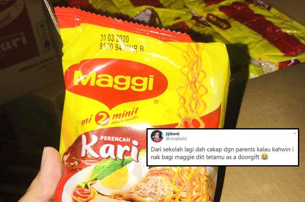 Woman Plans On Giving Out Maggi Mee As A Wedding Door Gift, Netizens Approve!