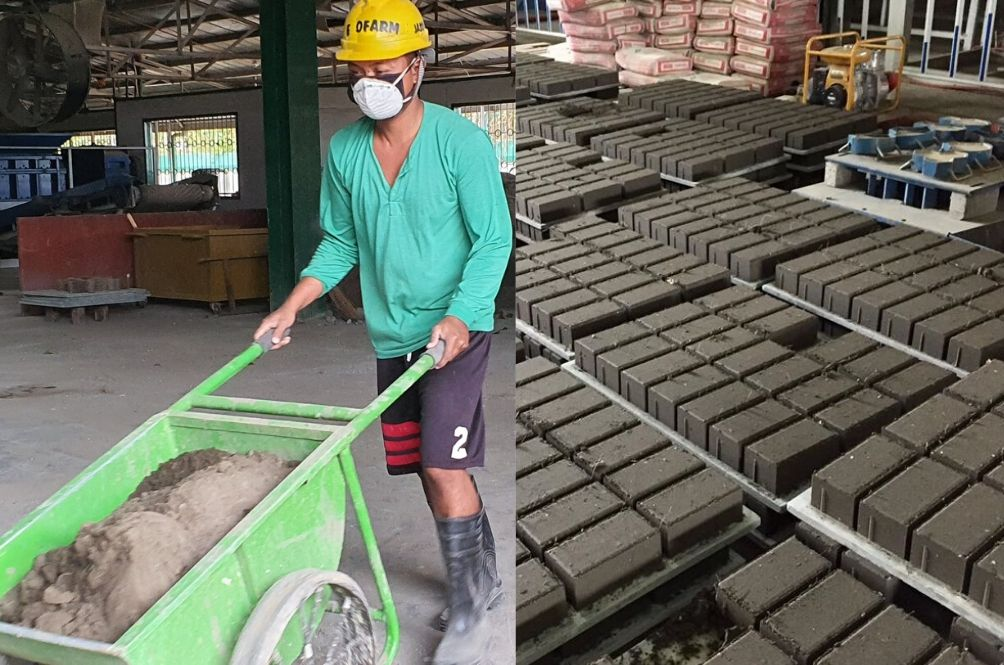 From Ashes to Bricks: Environmentalists In The Philippines Make Bricks From Volcano Ash