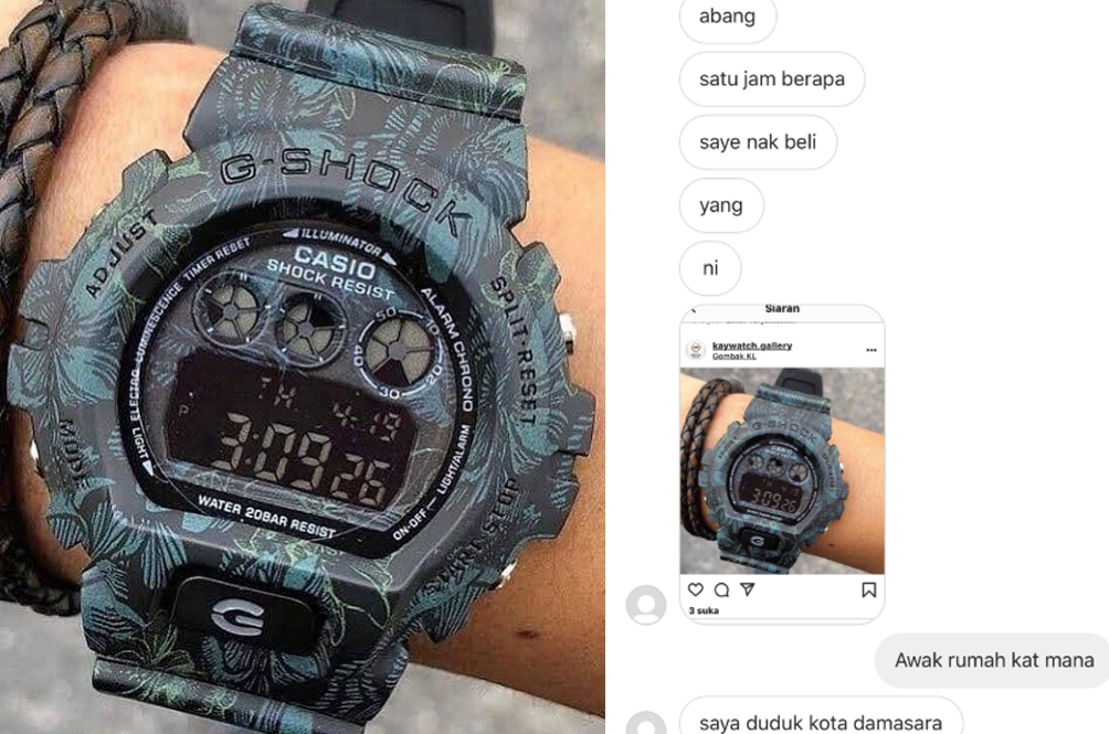 Girl Wants RM85 Watch, Offers Seller RM40, Got It For Free In The End