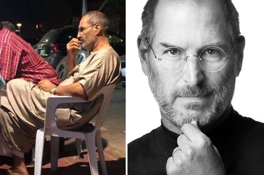 This Photo Of Man Resembling Steve Jobs Has Internet Convinced He's Alive And Well