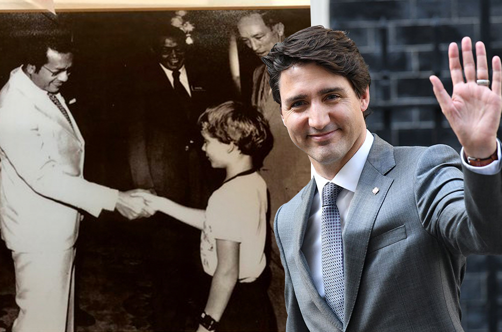 Canadian Prime Minister Justin Trudeau Is Actually Part Malaysian