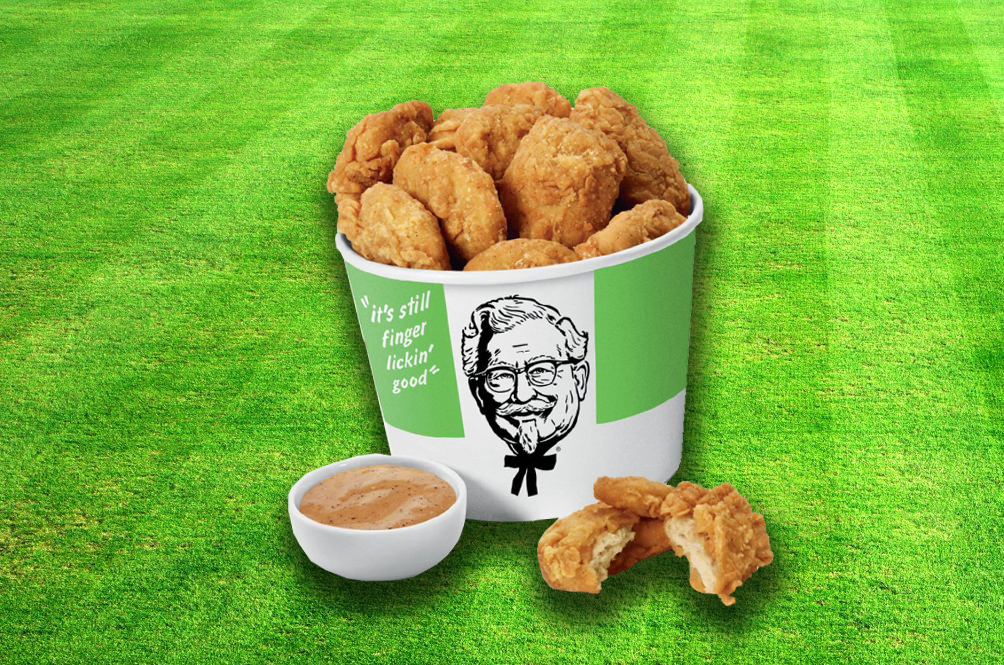 (Hopefully Not) Coming Soon: KFC Experimenting With Vegetarian Fried Chicken