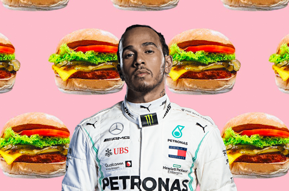 F1 World Champion Lewis Hamilton Announces The Opening Of Plant-Based Burger Chain
