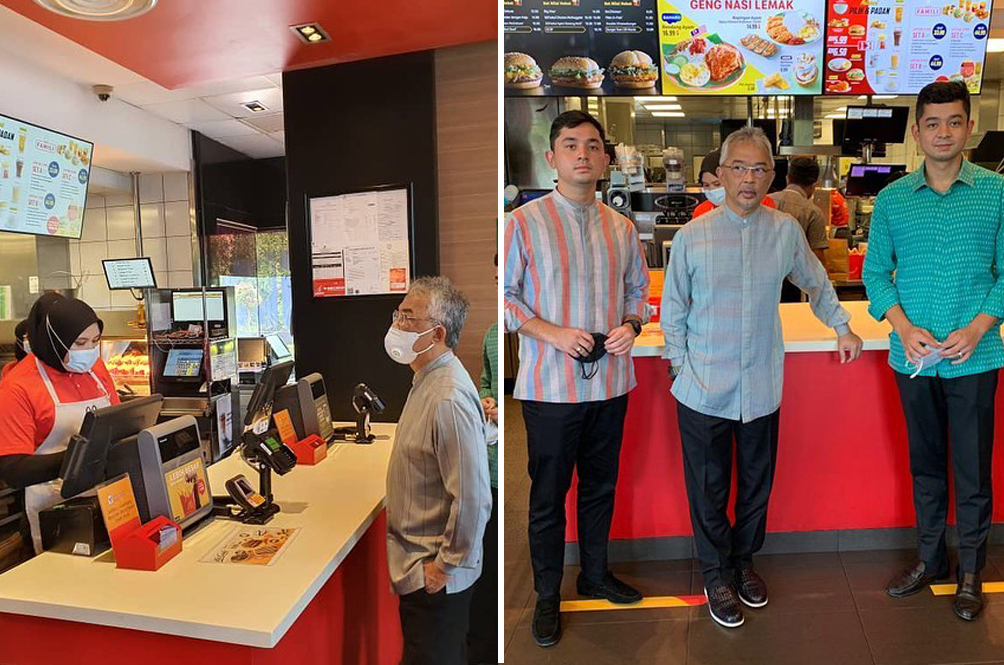 McDonald's Employee Left Starstruck After Serving The Agong And His Sons In Kuantan