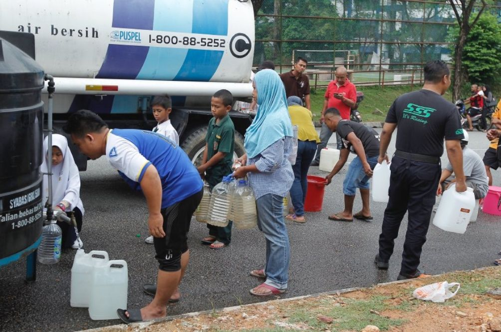 There Will Be Another Major Water Distruption In Klang Valley Next Week