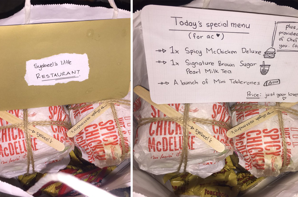 Guy Sends Care Package To Cheer Up Sad GF, Makes Internet Fall In Love With Him Instead
