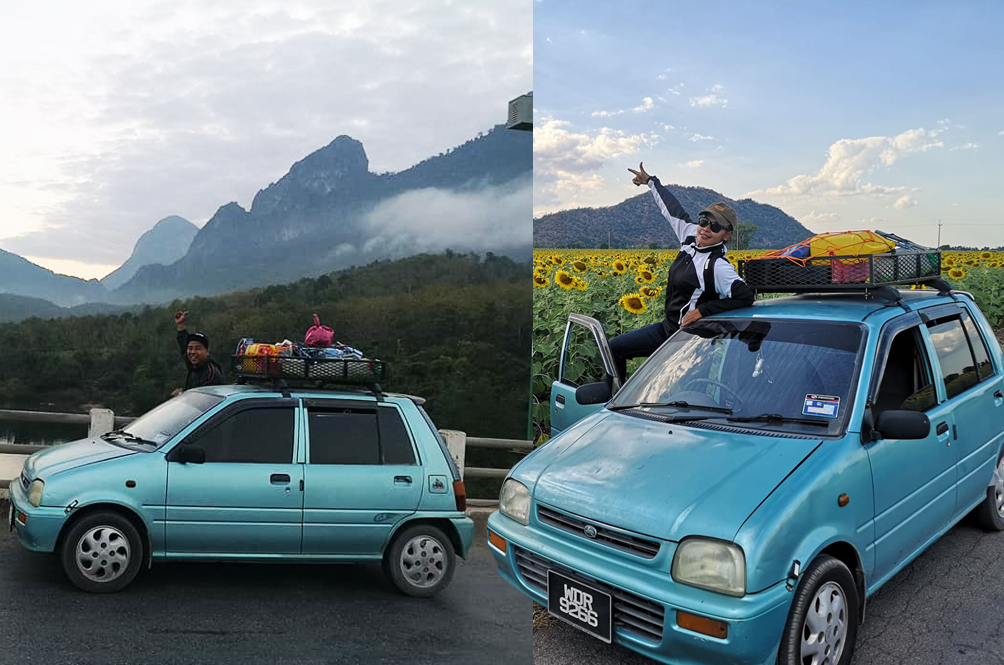 Malaysian Couple Embarks On Epic Road Trip To Laos In Their Little Perodua Kancil
