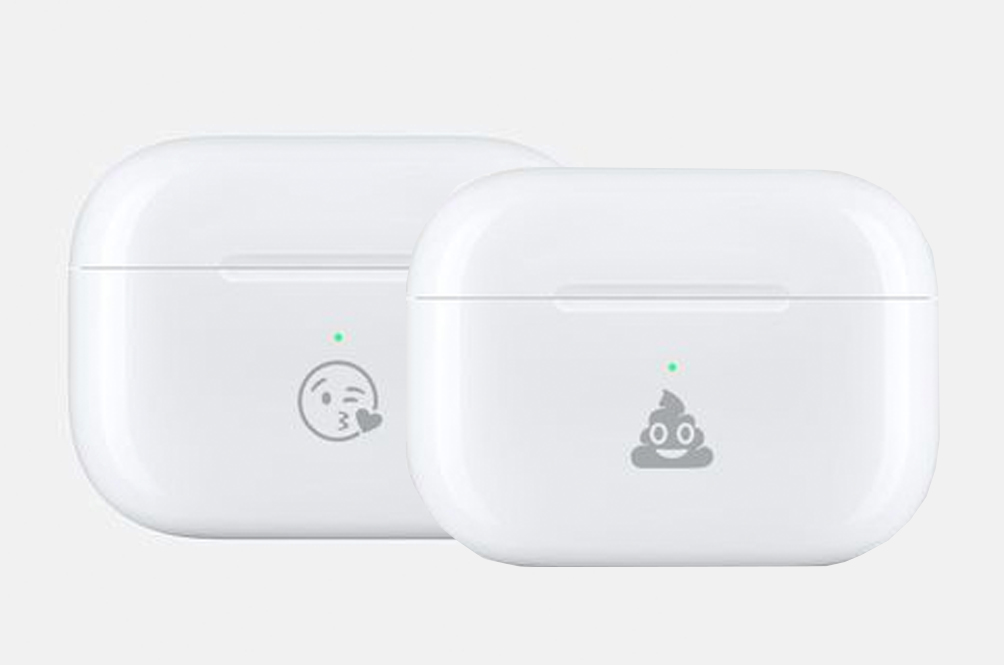 You Can Now Engrave A Poop Emoji Onto Your AirPods Cases Because Why Not?