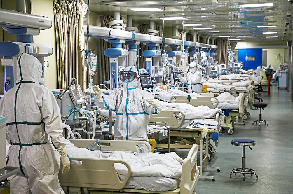 Hospitals are running out of room to acommodate serious patients.
