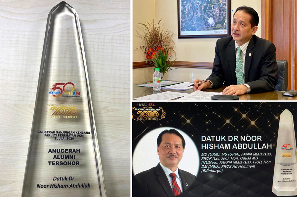 Well Done, Doc: Health DG Dr Noor Hisham Given Award By Local University