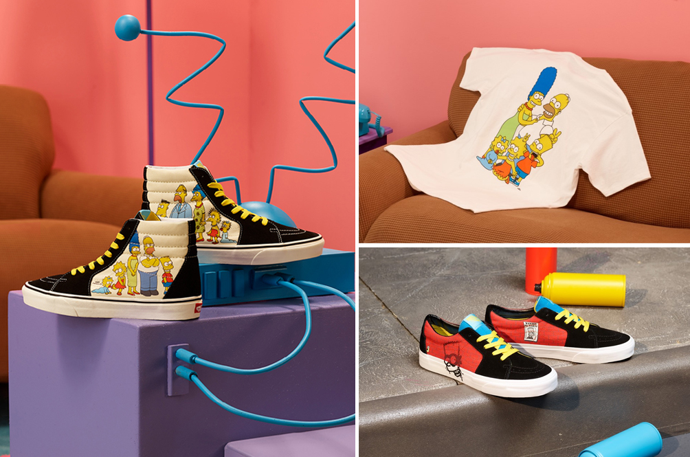 [PHOTOS] D'Oh! The Vans x 'The Simpsons' Collection Is Launching In Malaysia Very Soon